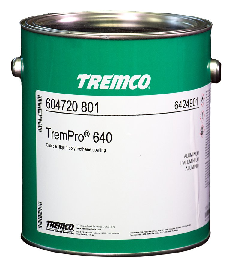 Trempro 640 642 Polyurethane Coatings Tremco Commercial Sealants And Waterproofing